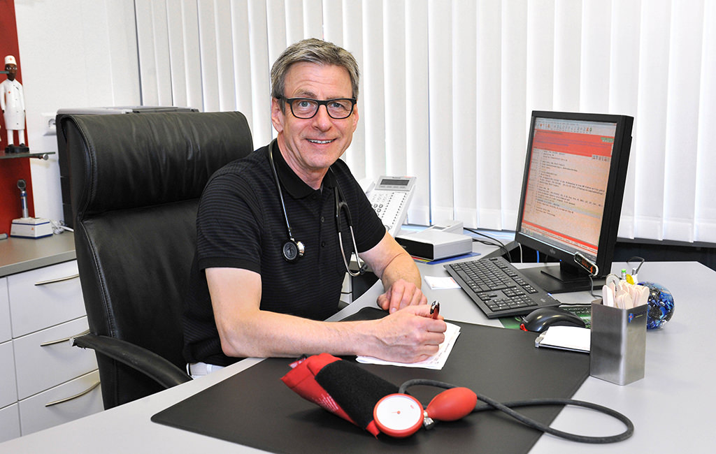 Dr. med. Rudolf Geis - Hausarzt in Stuttgart Rot