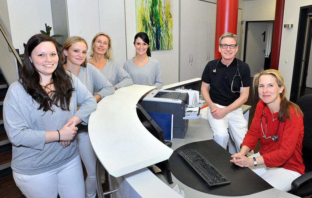 Team- Hausarztpraxis Dr. Rudolf Geis Stuttgart Rot