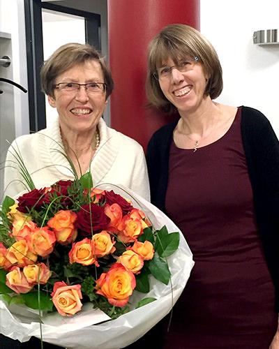 Dr. Heidrun Halbgewachs-Breiden mit Dr. Beate Lindemann