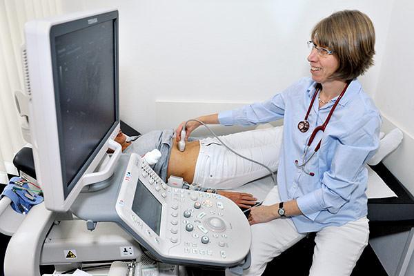 Hausarzt Ultraschall Sonographie der Bauchorgane